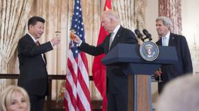 Vice President Biden Raises a Toast in Honor of Chinese President Xi at a State Luncheon at the State Department 21723827681