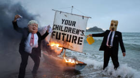 G7 Summit Protests1