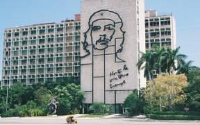 Ministry Building Havana Cuba