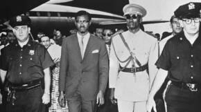 Lumumba Aankomst Lumoemba in New York Bestanddeelnr 913 2033 cropped