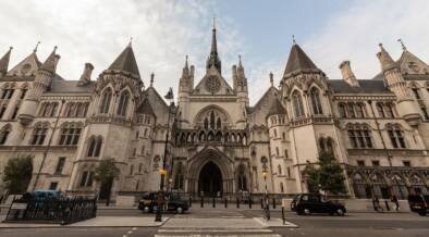 Royal Courts of Justice Wide Angle Front