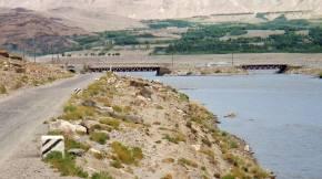 Afghan Tajikistan Border panoramio